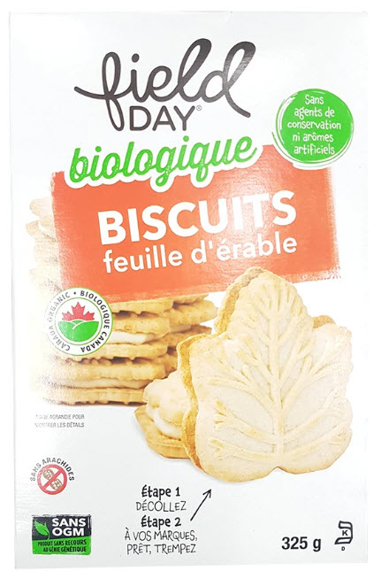 Biscuits feuille d'érable (325 gr)