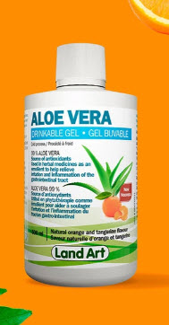 Aloe Vera gel buvable orange tangerine (500 ml)