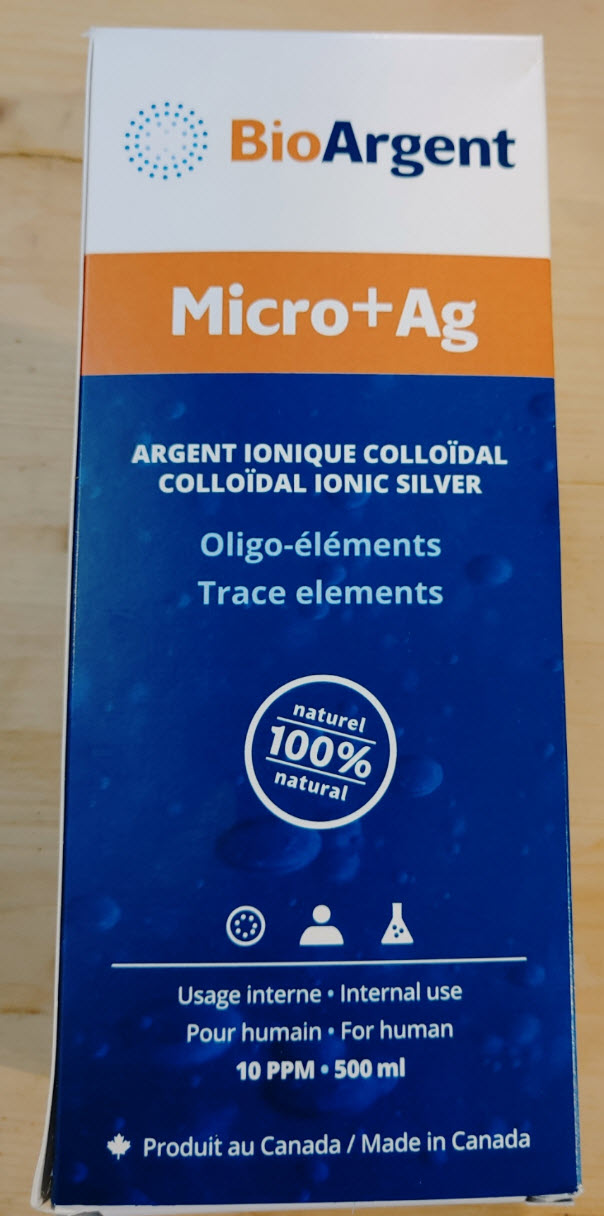 Argent colloidale liquide - usage interne (250 ml)